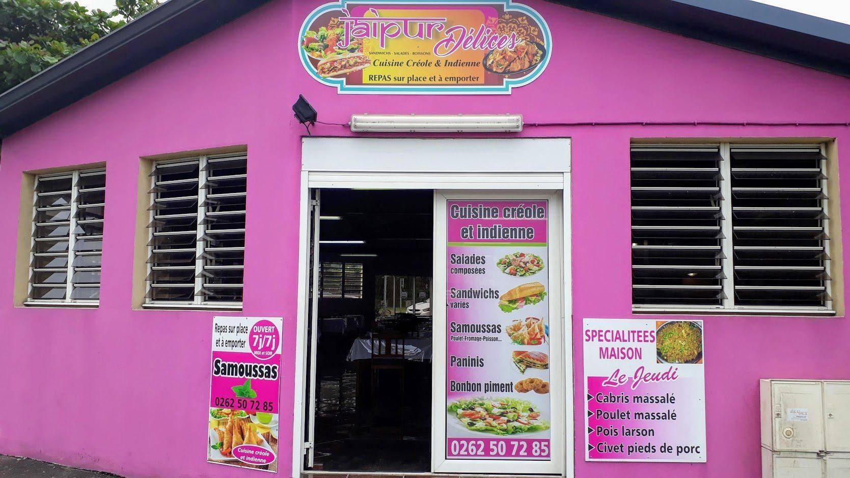 Restaurant le Jaipur Délices à Saint-Benoit